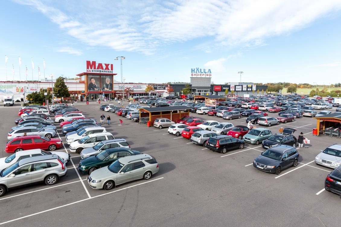 köpmannen 15 Parkering